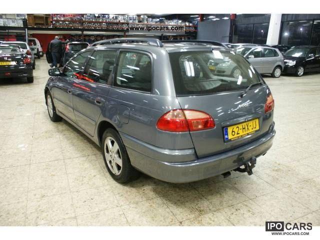 2002 toyota avensis 1.8 vvt-i wagon - car photo and specs