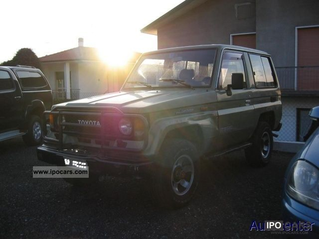 1988 Toyota Land Cruiser II 2.4 turbo diesel SW LJ70 Estate Car Used ...