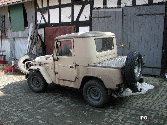 1980 Toyota  Land Cruiser Off-road Vehicle/Pickup Truck Used vehicle photo