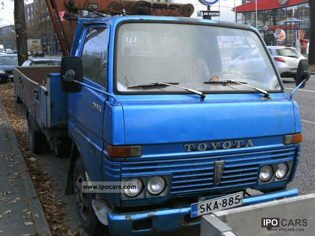 Toyota  Dyna 1978 Vintage, Classic and Old Cars photo