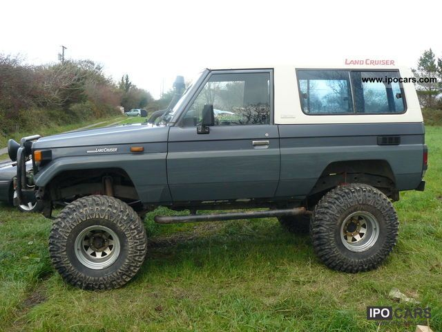 1986 Toyota Bj 73 Car Photo And Specs