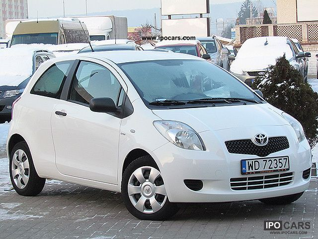 2007 toyota yaris diesel climate polski salon car photo and specs. Black Bedroom Furniture Sets. Home Design Ideas