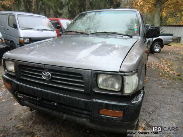 1994 toyota pickup 4x4 weight