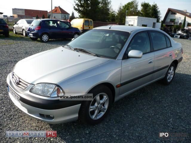 2002 Toyota  2.0 D4D 2002 CLIMA ZADBANY Limousine Used vehicle photo