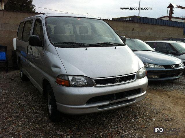 2000 Toyota  Diesel Estate Car Used vehicle photo