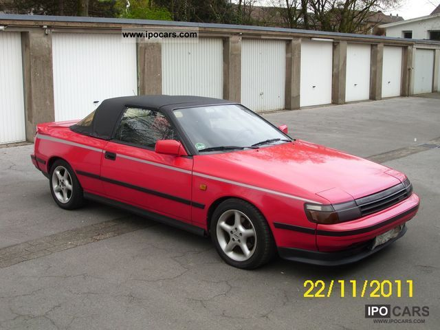 1988 Toyota  Celica GT 2.0 Cabrio / roadster Used vehicle photo