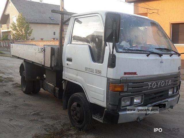 1993 Toyota  Dyna Off-road Vehicle/Pickup Truck Used vehicle photo