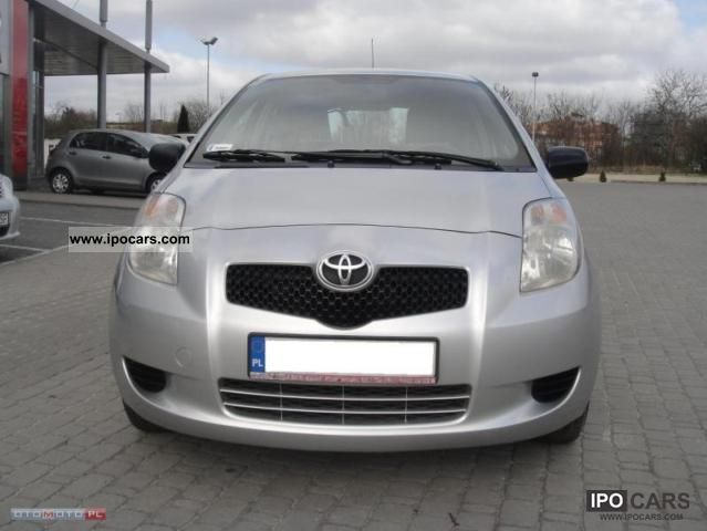 2007 toyota salon yaris polska serwis bezwypadko car. Black Bedroom Furniture Sets. Home Design Ideas