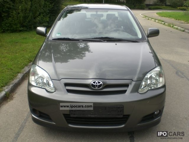 2005 toyota corolla 1 6 vvt i sport edition air checkbook car photo and specs. Black Bedroom Furniture Sets. Home Design Ideas