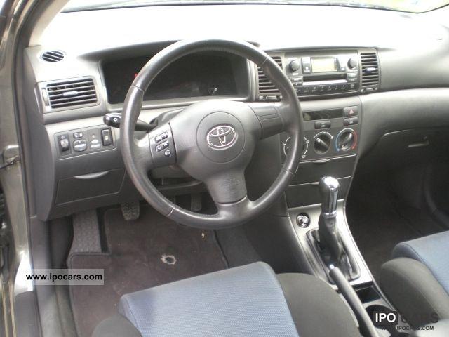 Toyota Corolla Model 2005 >> 2005 Toyota Corolla 1.6 VVT-i Sport Edition / Air / checkbook - Car Photo and Specs