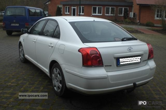 2004 toyota avensis 2 0 d 4d car photo and specs. Black Bedroom Furniture Sets. Home Design Ideas