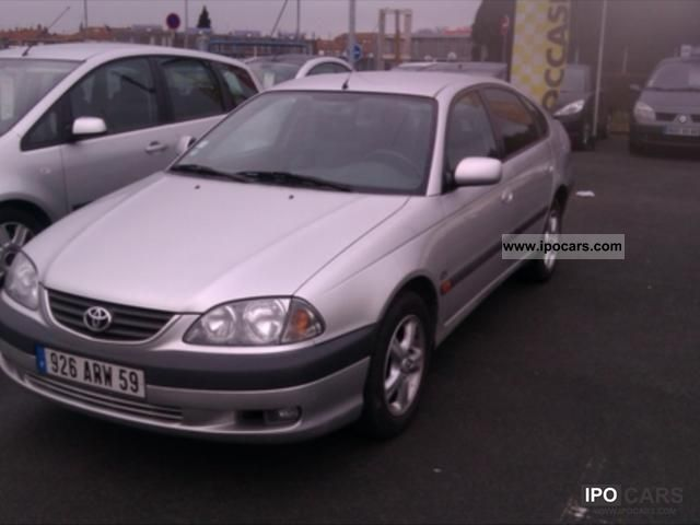 2002 Toyota  110 D-4D Avensis Sol 5p Limousine Used vehicle photo