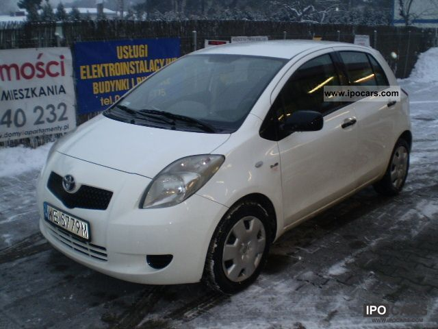 2008 toyota toyota yaris d4d diesel 2008 klimatyzacja car photo and specs. Black Bedroom Furniture Sets. Home Design Ideas