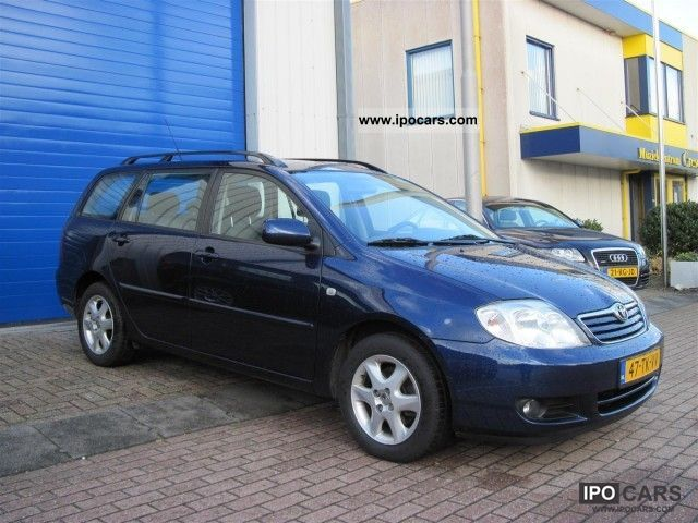 2006 Toyota Corolla 2.0 D-4D 116 WAGON Estate Car Used vehicle photo 1