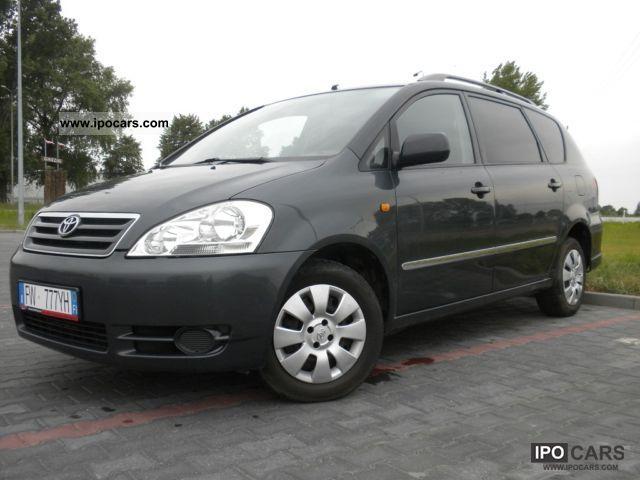 2004 toyota avensis verso beywzpadek car photo and specs. Black Bedroom Furniture Sets. Home Design Ideas