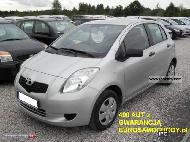 2008 Toyota  1.0VVT-i Yaris Luna F-VAT GWARANCJA Small Car Used vehicle photo