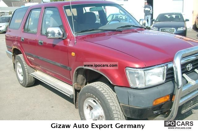 1996 Toyota  TD 4-Runner Special Off-road Vehicle/Pickup Truck Used vehicle photo