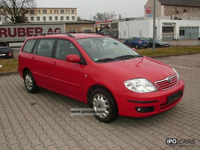 2005 Toyota  Corolla Combi 1.4 D-4D Sol Estate Car Used vehicle photo