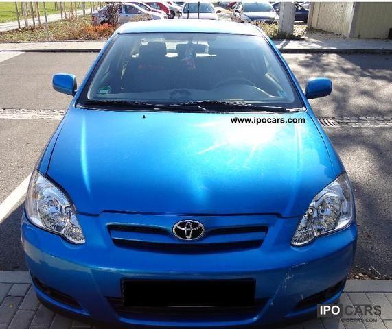 2006 Toyota Corolla 1.6 VVT-i