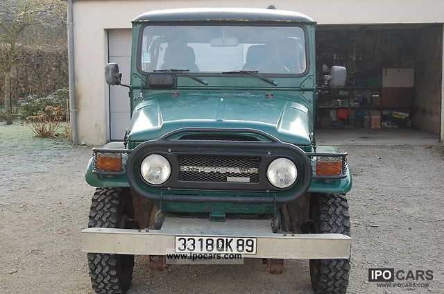 Toyota  land cruiser BJ 40 1977 Vintage, Classic and Old Cars photo