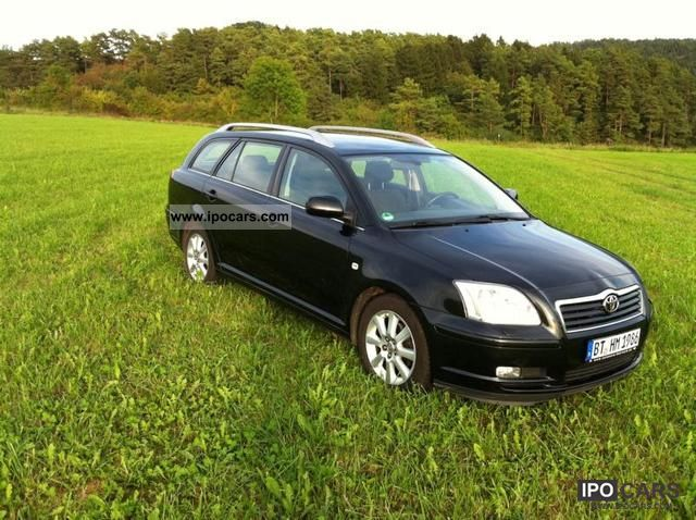 2004 toyota avensis 1 8 vvt i combi executive car photo and specs. Black Bedroom Furniture Sets. Home Design Ideas