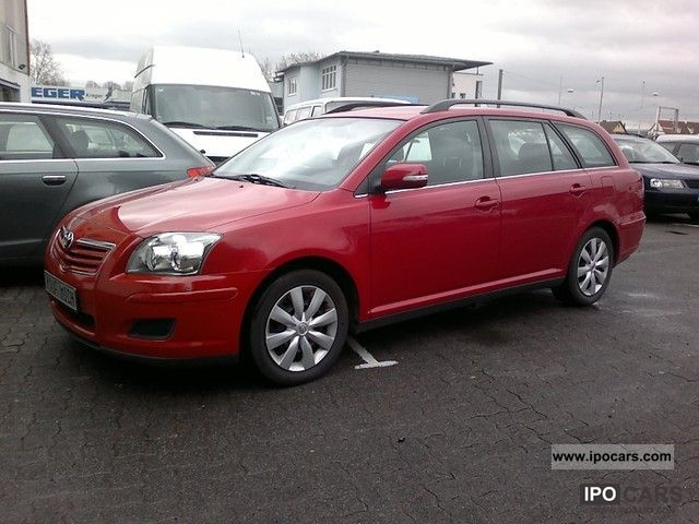 2007 toyota avensis 2 0 d 4d combi climate 1a top. Black Bedroom Furniture Sets. Home Design Ideas
