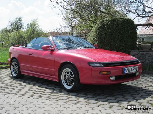 1991 Toyota  ST87 Cabrio / roadster Used vehicle photo