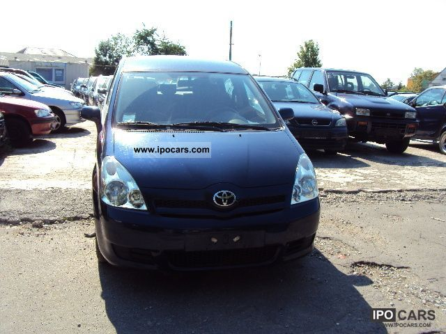 2006 toyota corolla verso 2 0 d 4d car photo and specs. Black Bedroom Furniture Sets. Home Design Ideas