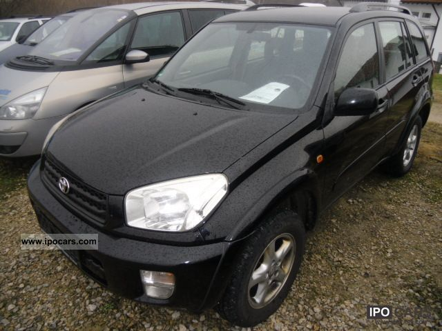 2004 Toyota  RAV4 4x4 2.0 Special 1.Hand Off-road Vehicle/Pickup Truck Used vehicle photo