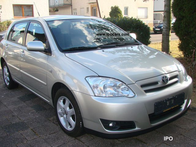 2006 Toyota Corolla 1 4 D 4d Sol Car Photo And Specs
