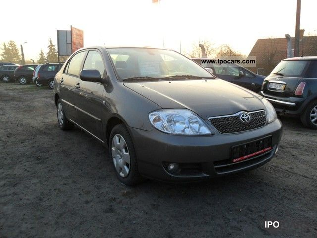 2006 Toyota Corolla 1.6 VVT-i 110 hp Air Sedan Limousine Used vehicle ...