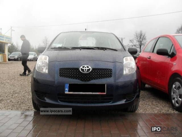 2008 toyota yaris 1 4 d4d r vat car photo and specs. Black Bedroom Furniture Sets. Home Design Ideas