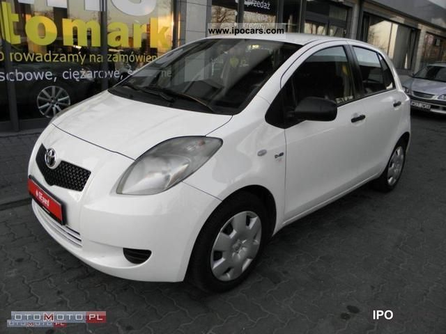 2008 toyota yaris 1 4 d4d salon serwis i w a ci car photo and specs. Black Bedroom Furniture Sets. Home Design Ideas