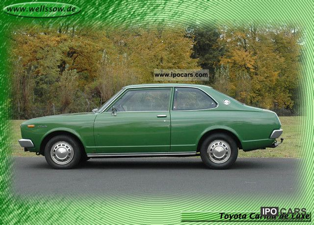 Toyota  Carina de Luxe - very rare 2-door! 1976 Vintage, Classic and Old Cars photo