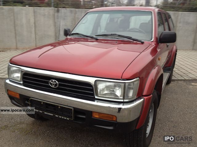 1996 Toyota  3L TD 4X4 125CV 3LTD CUIR CLIM VIP 4X Off-road Vehicle/Pickup Truck Used vehicle photo