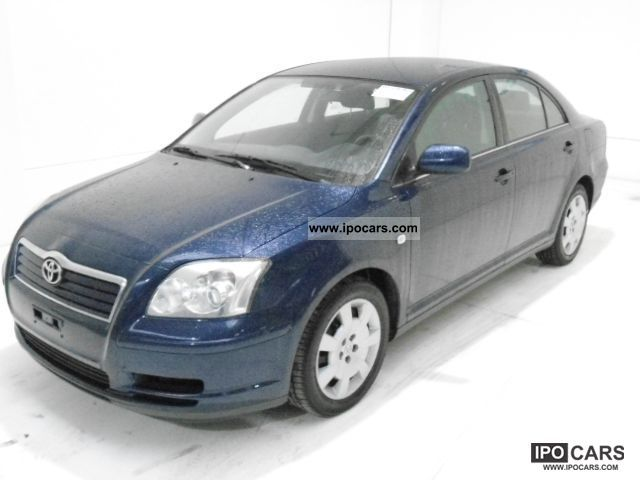 2006 toyota avensis 2 0 d4d 2 0 d car photo and specs. Black Bedroom Furniture Sets. Home Design Ideas