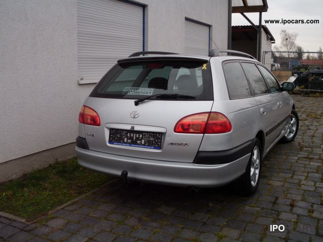 2002 toyota avensis 2 0   opa