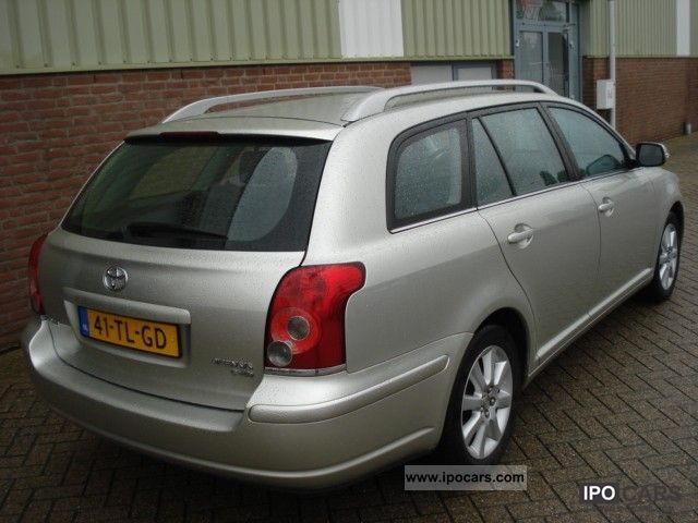 2006 toyota avensis wagon 2 0 d 4d luna 126pk car photo and specs. Black Bedroom Furniture Sets. Home Design Ideas