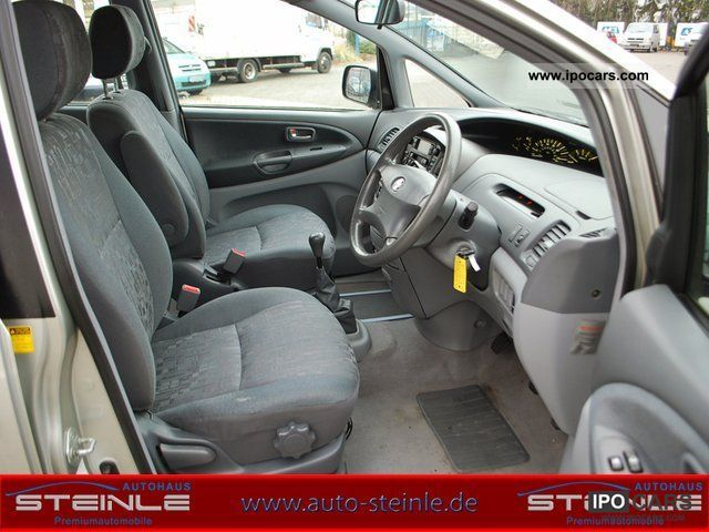 2002 Toyota Previa 2 0 D-4D RIGHT HAND - Car Photo and Specs