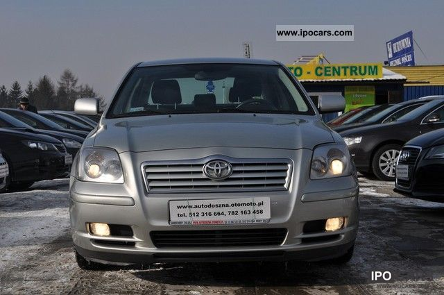2006 Toyota  23% VAT Avensis FAK SALON POLSKA Limousine Used vehicle photo