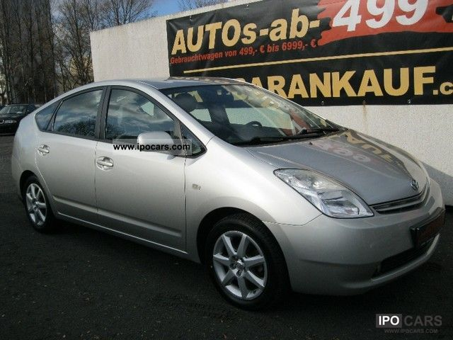 Toyota  Prius (hybrid) / navigation / Auto / Air 2004 Hybrid Cars photo