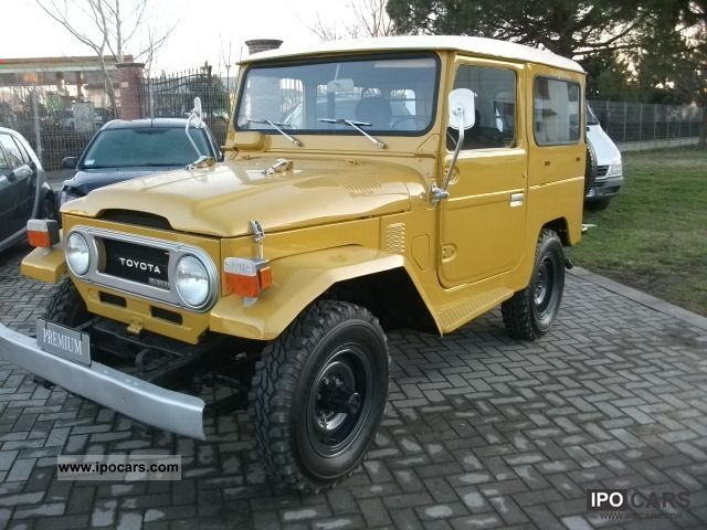 Toyota  Land Cruiser 1976 Vintage, Classic and Old Cars photo