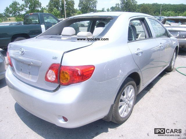 2009 toyota corolla s car photo and specs. Black Bedroom Furniture Sets. Home Design Ideas