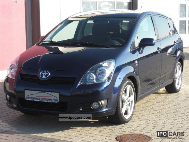 2008 toyota corolla verso 2 2 d cat dpf sol car photo and specs. Black Bedroom Furniture Sets. Home Design Ideas