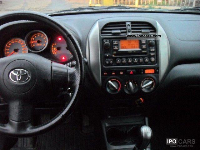 2004 Toyota RAV 4 1.8i 4x2 VVV I X Off Road Vehicle/ ...