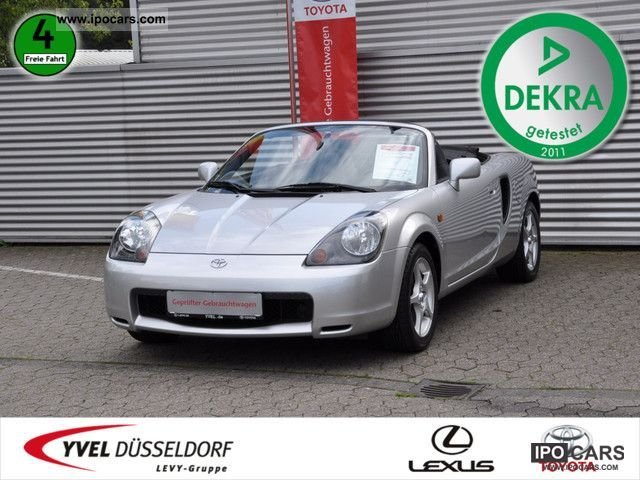 2001 Toyota  MR 2 1.8 LEATHER Cabrio / roadster Used vehicle photo