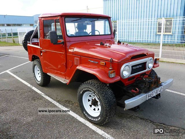 1974 Toyota  Land Cruiser FJ40 Off-road Vehicle/Pickup Truck Used vehicle photo