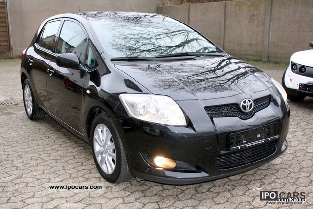 2009 toyota auris 2 0 d 4d keyless go cruise control aluminum 1 hand car photo and specs. Black Bedroom Furniture Sets. Home Design Ideas