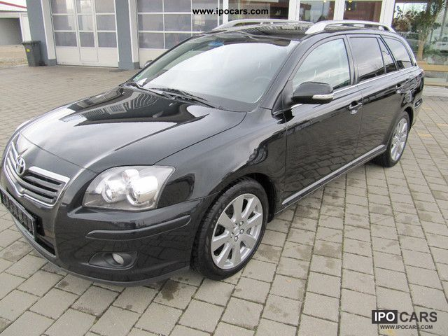 2008 toyota avensis combi 2 0 d 4d sol top condition. Black Bedroom Furniture Sets. Home Design Ideas