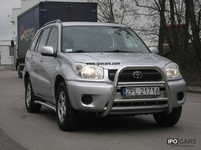 Toyota  RAV-4 1.8-16V + GAZ SALON POLSKA 2004 Liquefied Petroleum Gas Cars (LPG, GPL, propane) photo